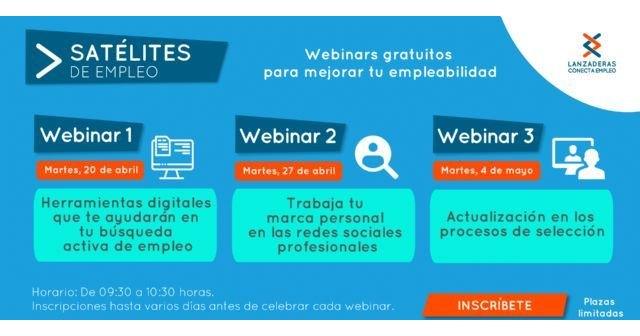 Desempleados podrán mejorar su búsqueda de trabajo con los talleres online ´Satélites de Empleo´ - 1, Foto 1