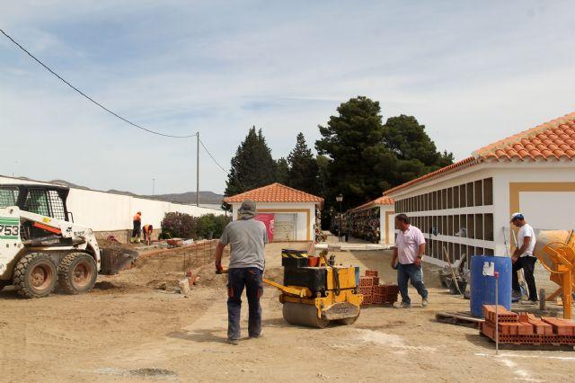 En marcha la construcción de 132 nichos en el Cementerio Municipal de Puerto Lumbreras - 1, Foto 1