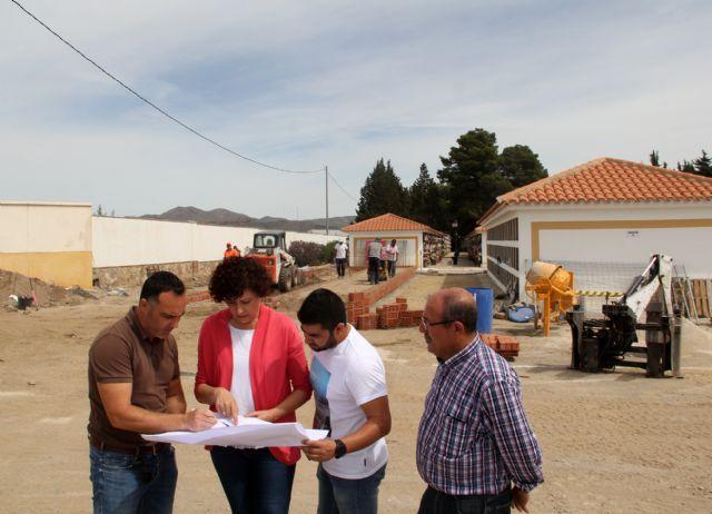 En marcha la construcción de 132 nichos en el Cementerio Municipal de Puerto Lumbreras - 2, Foto 2