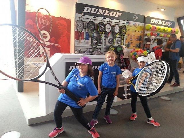 Viaje al Mutua Madrid Open 2018 de la Escuela de Tenis Kuore de Totana, Foto 3