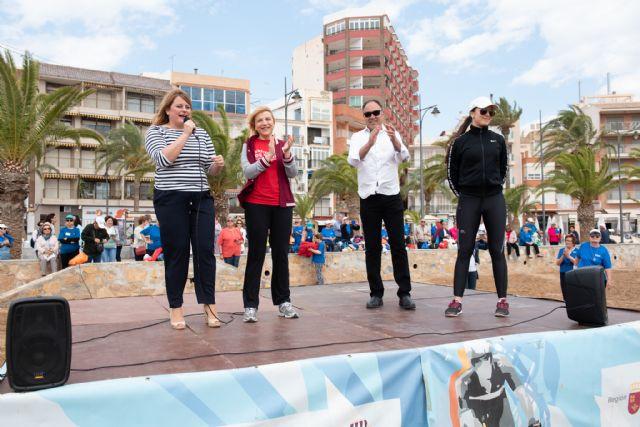 500 mayores se dan cita en Puerto de Mazarrón para participar en un encuentro de gerontogimnasia - 4, Foto 4