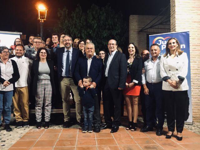 Juan Pagán subscribe un compromiso con Totana con un programa electoral con 10 ejes de actuación