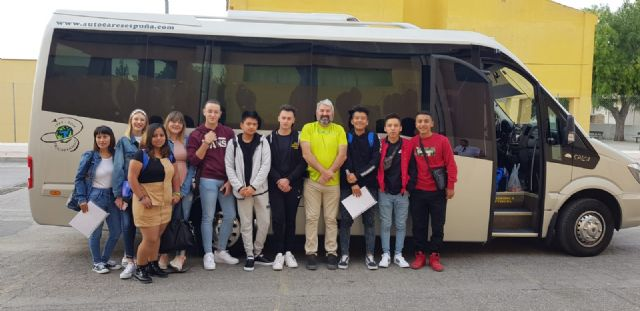 Students of the IES Prado Mayor carry out their training practices in Rimini (Italy)