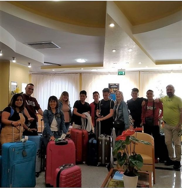 Students of the IES Prado Mayor carry out their training practices in Rimini (Italy) - 4