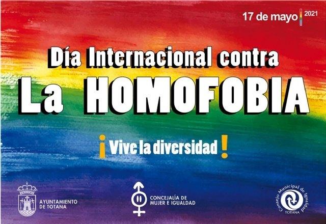 [El Ayuntamiento de Totana conmemora hoy el Día Internacional contra la Homofobia, con la organización de talleres de sensibilización