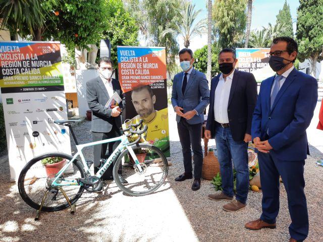 Alcantarilla será la meta de la Vuelta Ciclista a la Región de Murcia 2021 el próximo domingo - 1, Foto 1