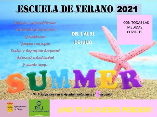 Abierto plazo de pre-inscripción escuela de verano municipal - 1, Foto 1