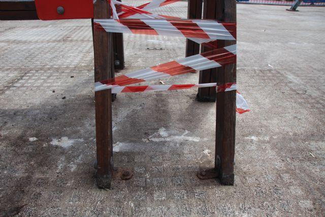 Arreglo de juegos en el Parque de La Cubana, Foto 2