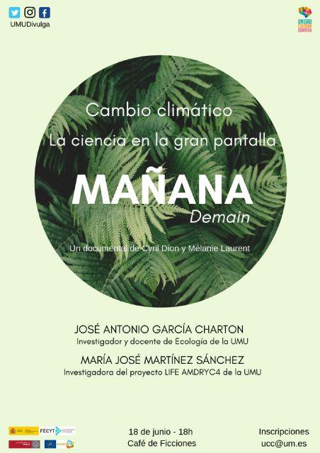 El cambio climático a debate en el cinefórum de la Universidad de Murcia - 1, Foto 1