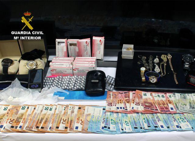 La Guardia Civil desmantela en Murcia un activo punto de venta de droga - 4, Foto 4