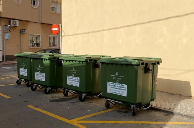 El servicio de recogida de basura renueva contenedores del centro urbano y otras zonas del municipio - 1, Foto 1