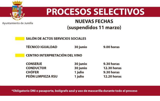 415 aspirantes se presentarán a los procesos selectivos para 24 plazas vacantes en el Ayuntamiento - 1, Foto 1