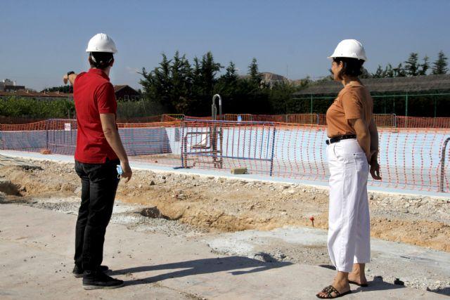 Las obras de modernización de la piscina climatizada finalizarán en otoño - 1, Foto 1