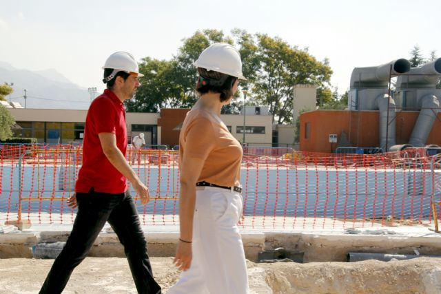 Las obras de modernización de la piscina climatizada finalizarán en otoño - 2, Foto 2