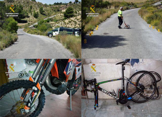 La Guardia Civil investiga a un motorista por causar lesiones graves a un ciclista tras realizar una conducción temeraria - 4, Foto 4