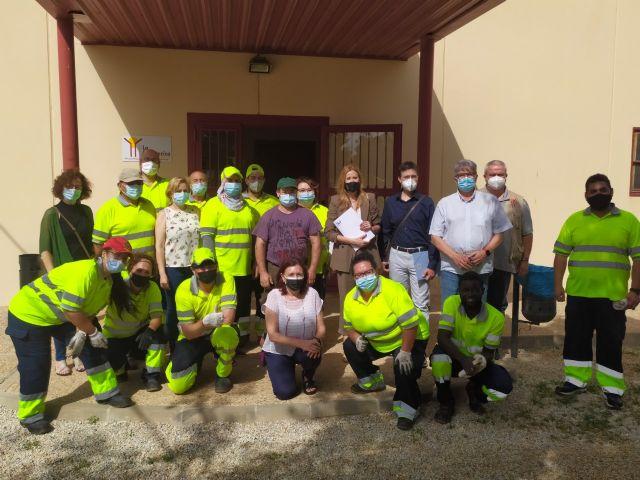 15 desempleados participan en La Huertecica en un proyecto para mejorar su acceso al empleo - 1, Foto 1