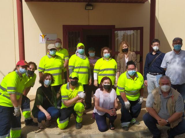 15 desempleados participan en La Huertecica en un proyecto para mejorar su acceso al empleo - 2, Foto 2