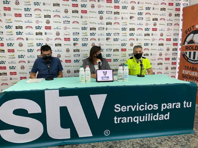 Juan Alcaráz deja el banquillo del STV Roldán - 1, Foto 1
