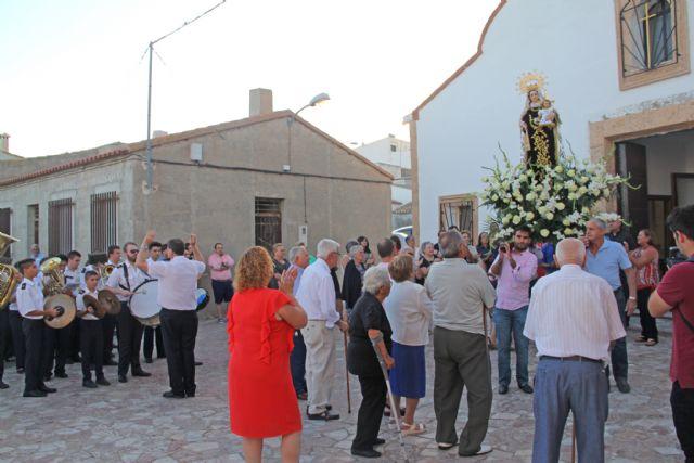 La pedanía lumbrerense de Góñar celebra las fiestas en honor a la Virgen del Carmen - 1, Foto 1