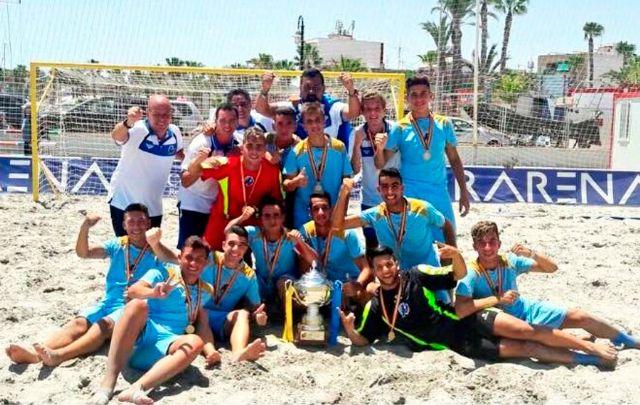 Andalucía y Melilla se hacen con los nacionales Senior y Juvenil de selecciones territoriales de Futbol Playa celebrados en San Pedro del Pinatar - 4, Foto 4