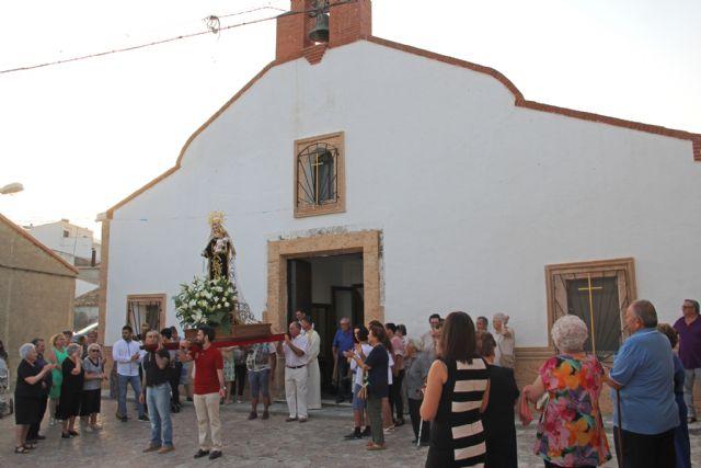La pedanía lumbrerense de Góñar y el barrio de Los Limoneros celebran la festividad de la Virgen del Carmen - 1, Foto 1