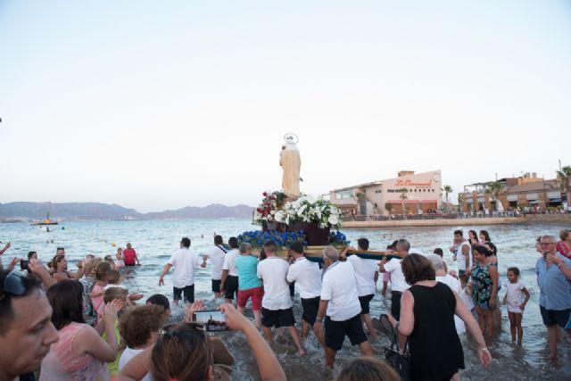 Multitudinario homenaje a la Virgen Marinera en Puerto de Mazarrón - 5, Foto 5