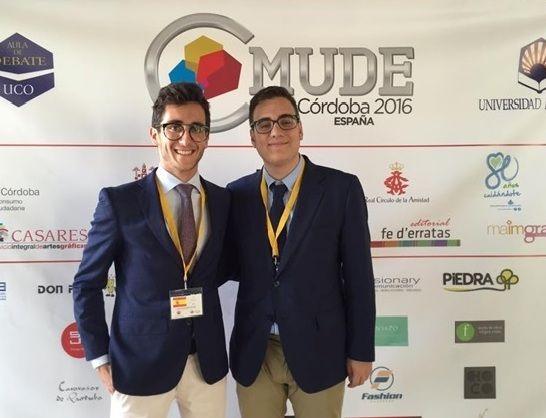 Dos alumnos de la Universidad de Murcia participan en el Campeonato Mundial Universitario de Debate en Español - 1, Foto 1