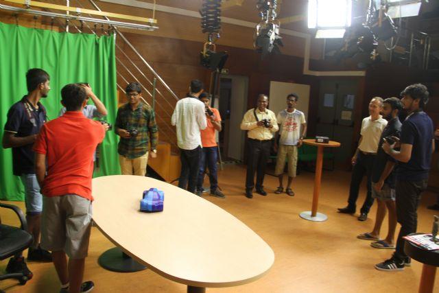 Estudiantes de India aprenden diseño e impresión en 3D en la UCAM - 1, Foto 1