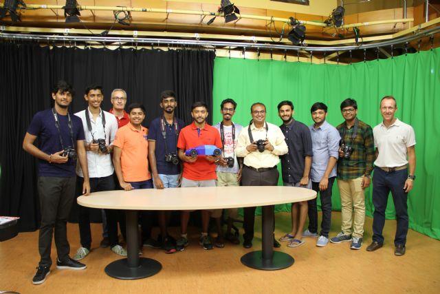 Estudiantes de India aprenden diseño e impresión en 3D en la UCAM - 2, Foto 2