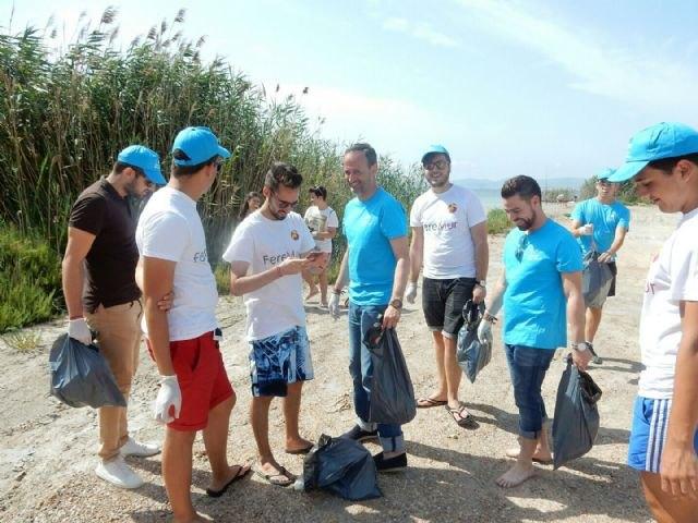 La Comunidad incrementa las acciones de voluntariado ambiental dentro de la campaña ´Naturalmente, Mar Menor´ - 1, Foto 1