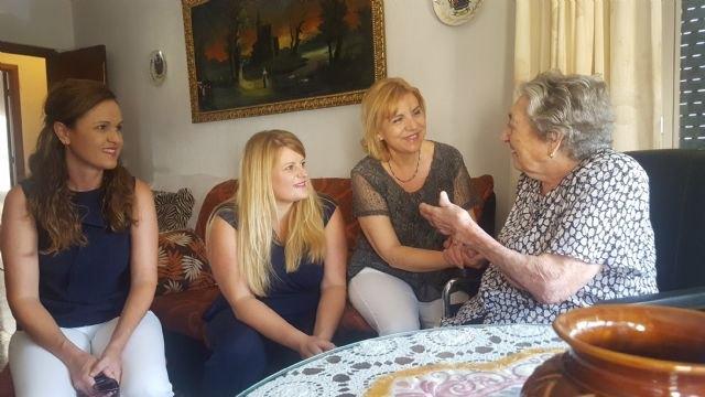 La Comunidad destina 174.000 euros para la ayuda a domicilio de personas dependientes en Mazarrón - 1, Foto 1