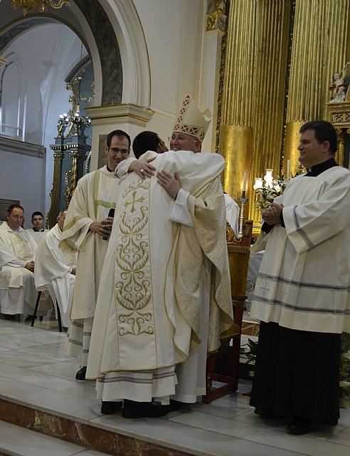 """""""Estamos aquí para dar a gracias a Dios porque se ha fijado en ti"""", Mons. Lorca a Javier Conesa en su ordenación sacerdotal, Foto 1"""