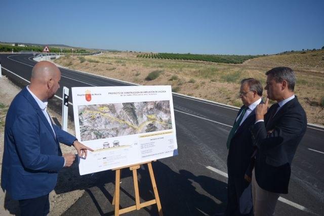 La carretera Yecla-Fuente Álamo se amplía con un nuevo carril para aumentar la seguridad vial - 1, Foto 1