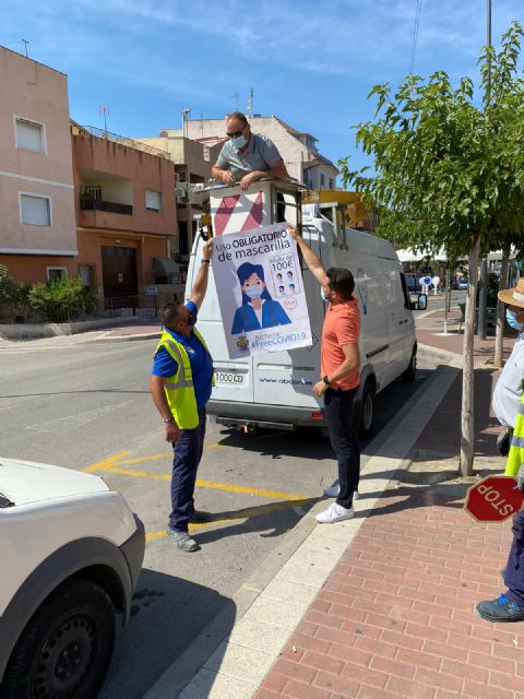La Alcaldesa de Archena lanza la campaña de concienciación Archena Free Covid para prevenir posibles contagios - 1, Foto 1