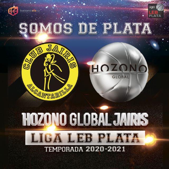 Hozono Global Jairis de Alcantarilla jugará en LEB Plata - 1, Foto 1