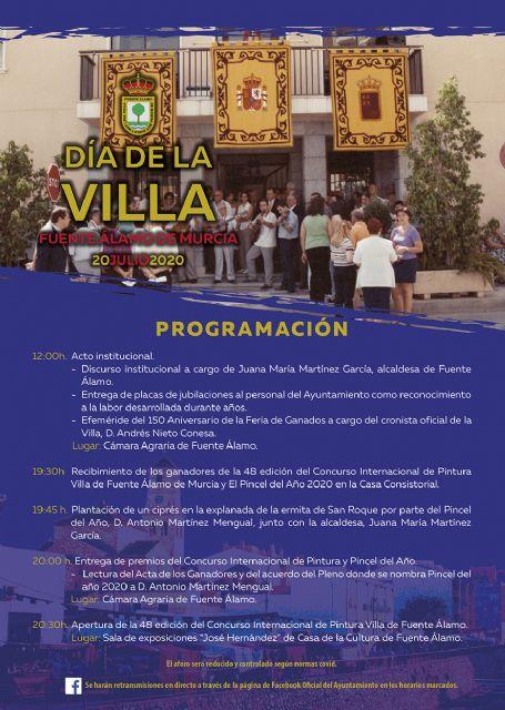 Fuente Álamo celebrará el 'Día de la Villa' con un acto institucional que homenajeará la labor de su personal jubilado - 1, Foto 1