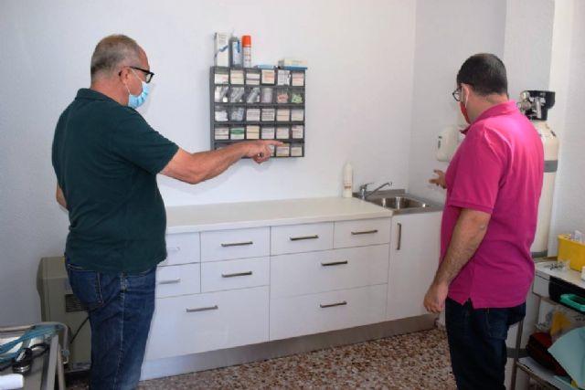 El ayuntamiento realiza mejoras y acondicionamiento en el consultorio médico de Cañada de Gallego - 1, Foto 1