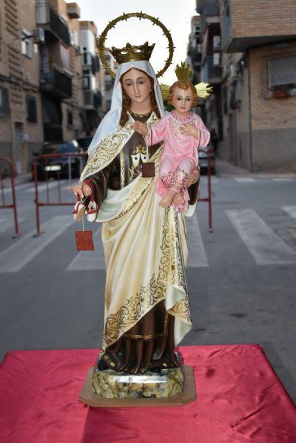 El barrio del Carmen homenajea a su patrona con una misa al aire libre - 2, Foto 2