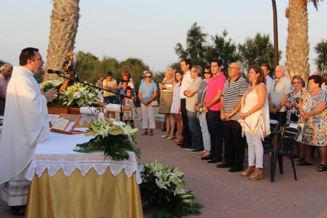 Las fiesta de El Mojón culminan con la procesión de San Roque - 3, Foto 3