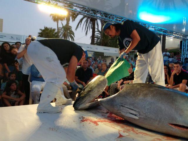 El Ronqueo de Atún rojo de 200 kilos en directo fue el espectáculo gastronómico del día - 2, Foto 2
