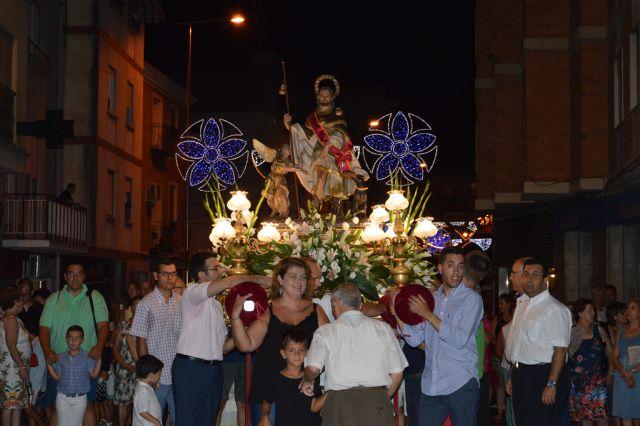 La procesión de San Roque despide las fiestas patronales de Blanca 2019 - 1, Foto 1