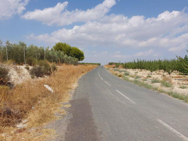 La Comunidad destina 1,3 millones a ampliar la carretera que une Campos del Río con Alguazas - 1, Foto 1