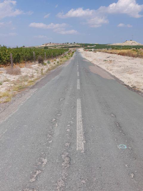 La Comunidad destina 1,3 millones a ampliar la carretera que une Campos del Río con Alguazas - 2, Foto 2