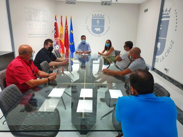 El Ayuntamiento de Caravaca se reúne con representantes de la hostelería - 1, Foto 1