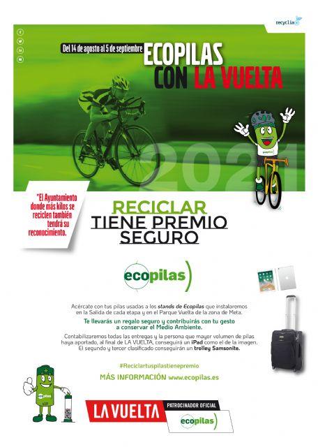 La Vuelta Ciclista a España sale este domingo desde Puerto Lumbreras por segunda vez en cuatro años - 1, Foto 1