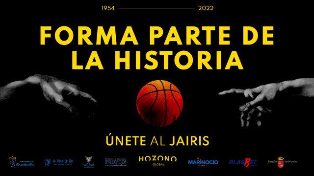 El CB Jairis lanza su primera campaña de abonados con el lema Forma parte de la historia - 1, Foto 1