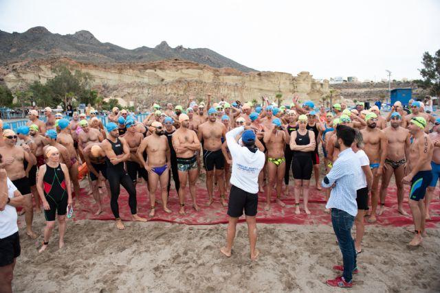 120 nadadores completaron el Desafío Seaman de Bolnuevo - 1, Foto 1
