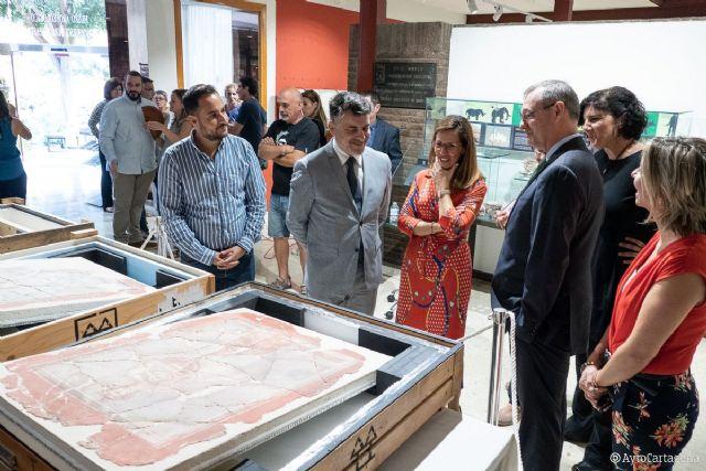 Las ´MVSAS´ del Foro Romano se exhiben en el Arqueológico de Cartagena antes de viajar al Nacional de Madrid - 1, Foto 1