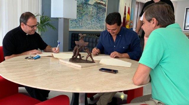 El Ayuntamiento renueva su apoyo al Museo de la parroquia de San Francisco Javier - 3, Foto 3