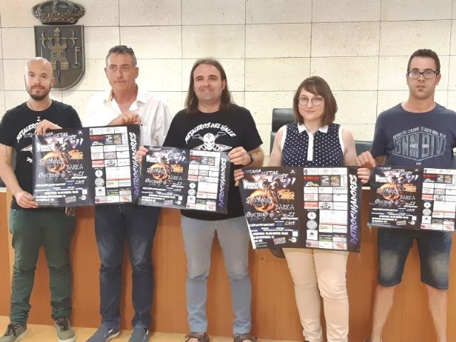 """The III Totana Metal Fest is celebrated this Saturday, September 21 in the auditorium of the municipal park """"Marcos Ortiz"""", with the participation of five groups, Foto 1"""
